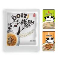 DOIT 道一 鲜粉丝 葱油虾仔/香辣肉菇 200g*3包