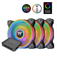 61预售、新品发售:Tt Thermaltake Riing Quad 14 LED RGB 水冷风扇