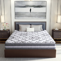 SLEEMON 喜临门 亚丁豪华版 黄麻护脊静音弹簧床垫 1.8m