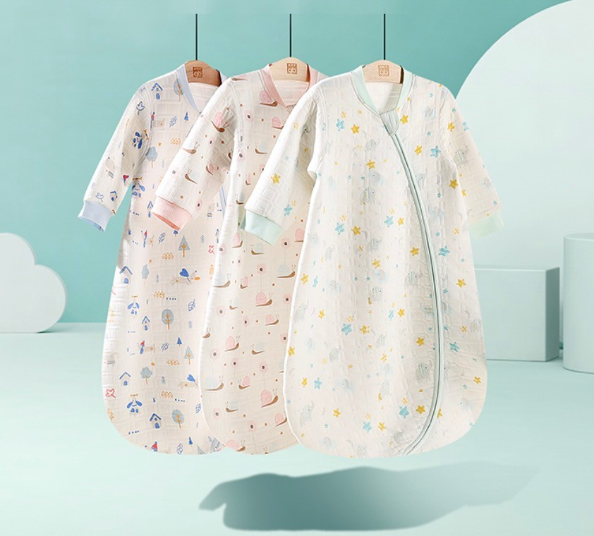 gb 好孩子 婴儿纱布睡袋 四季通用款
