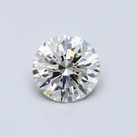 Blue Nile 0.56克拉圆形切割钻石(切工EX,成色H,净度VS2)