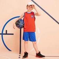 61预售:ANTA 安踏 儿童篮球运动速干套装