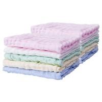 61预售:Kaili 开丽 婴儿全棉纱布小方巾 10条装+爽身粉