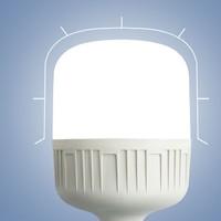 罗翔 家用超亮螺口LED照明节能灯 5w