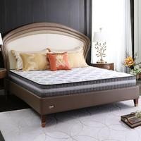 61预售:喜临门床垫 亚丁进口乳胶独袋弹簧床垫椰棕环保护脊 简约现代卧室家具 21cm