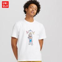 UNIQLO 优衣库 425478 ULTRAMAN 中性款印花T恤