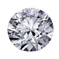 Blue Nile 0.50克拉圆形切割钻石 理想切工 G级成色 SI2净度