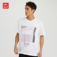UNIQLO 优衣库 SUPER MARIO 35TH 424618 男士印花T恤