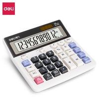deli 得力 2136 大按键财务计算器 12位