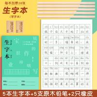 苏丰 5本小学生生字本+5支铅笔+2块橡皮