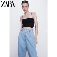 ZARA TRF 03253314800 女士吊带短上衣