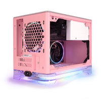 IN WIN 迎广 A1Plus 粉色限定版 机箱(标配650W电源、2把RGB风扇)