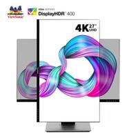 ViewSonic 优派 VX2780-4K-HD-2 27英寸IPS显示器(4K、HDR400、120%sRGB)