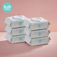 KUB 可优比 婴儿湿巾 80抽*6包 *3件