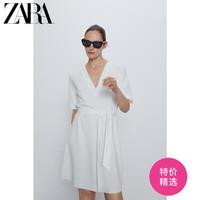 ZARA 01165163251 女士配腰带质感连衣裙