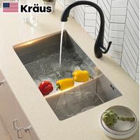 61预售:KRAUS克劳思 CKHU103-7843 不锈钢洗碗槽