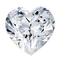 Blue Nile 0.54克拉 心形钻石 非常好切工 H级成色 VS2净度