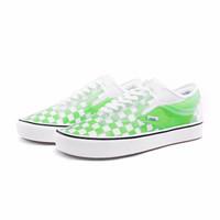 61预告:Vans范斯 Slip-Skool休闲鞋 绿白棋盘格