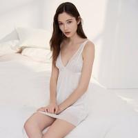 GXG旗下 lovemore LY2JJ069C 夏季薄款蕾丝睡裙