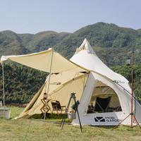 1日0点、61预告:MOBI GARDEN 牧高笛 NX20561010 加厚棉布露营帐篷