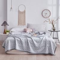 Xanlenss 轩蓝仕 馨雅纯棉针织棉空调被 麦穗-蓝 150*200cm