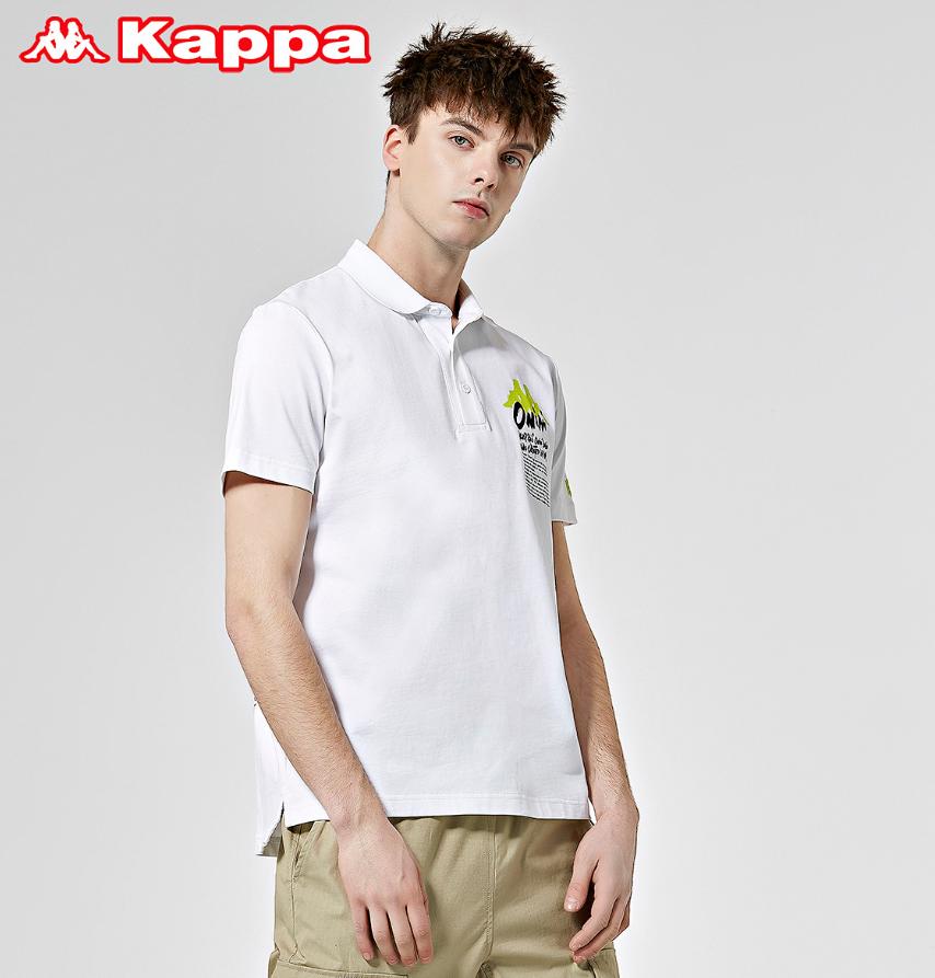 Kappa 卡帕 艺术家联名男运动短袖
