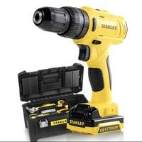 61预售:史丹利 SCH121S1K-A9   12V锂电钻