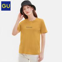 GU 极优 322541 女款时尚潮流T恤