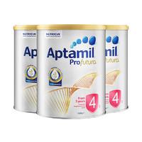 Aptamil 爱他美 白金版儿童配方奶粉4段 900克 3罐装