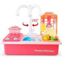 NUKIED 纽奇 过家家 循环出水电动洗碗玩具