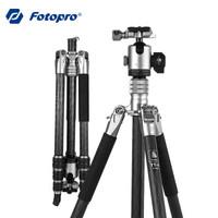 富图宝 Fotopro TT-4+LG-4 磐图·羽 匠心营造纯碳纤维轻量化摄影云台三脚架 1.25KG