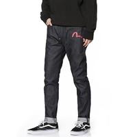 1日0点、61预告:EVISU 惠美寿 1EAOTM9JE24117 男士窄脚印花牛仔裤