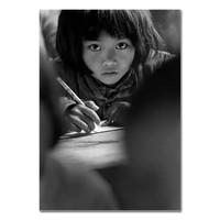 《大眼睛 8岁》解海龙|银盐相纸 输出工艺:C-print|40 x 60 cm
