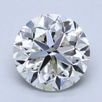 补贴购:Blue Nile 1.01克拉圆形切割钻石 良好切工 H级成色 VS2净度
