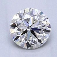 Blue Nile 0.50克拉圆形切割钻石 良好切工 G级成色 VS2净度