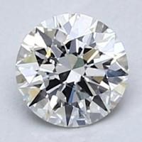 Blue Nile 0.30克拉圆形切割钻石 非常好切工 H级成色 VS2净度
