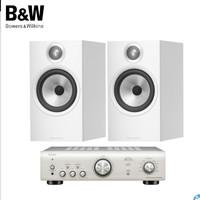 61预售:Bowers&Wilkins 宝华韦健 606书架式音箱+天龙PMA-600 家庭影院 HIFI音响套装 白色