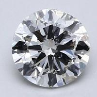 补贴购:Blue Nile 1.00克拉圆形切割钻石 良好切工 J 级成色 SI2净度
