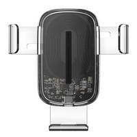 618预售:BASEUS 倍思 WXYL-K02 车载无线充电手机支架 15W 全透明款