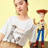 61预售:Eifini 伊芙丽 1B6902621 白色印花上衣