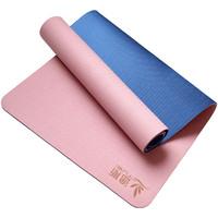途斯 家用单色瑜伽垫 三件套 6mm