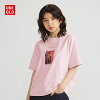 1日0点:UNIQLO 优衣库 427981 女士印花短袖