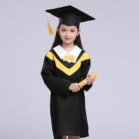 PMZ 儿童男女毕业照博士服 100~130cm