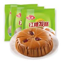 安井  红糖发糕  400g*3  *10件
