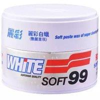 SOFT99 丽彩白蜡 350g 白色车专用 *2件
