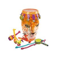 历史低价:B.Toys 比乐 BX1289Z 丛林打击乐团豹子鼓