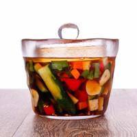 Le Bronte 朗特乐 日式一夜渍玻璃泡菜罐 650ml