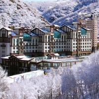 周末节假日不加价!张家口万龙滑雪场龙宫酒店 山景标准间/大床房1晚(含早餐+双人温泉)