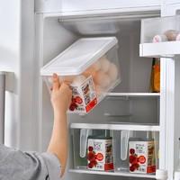 久梨沙 冰箱保鲜盒+沥水板  2个装 *5件