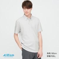 UNIQLO 优衣库 424218 AIRism 男士POLO衫